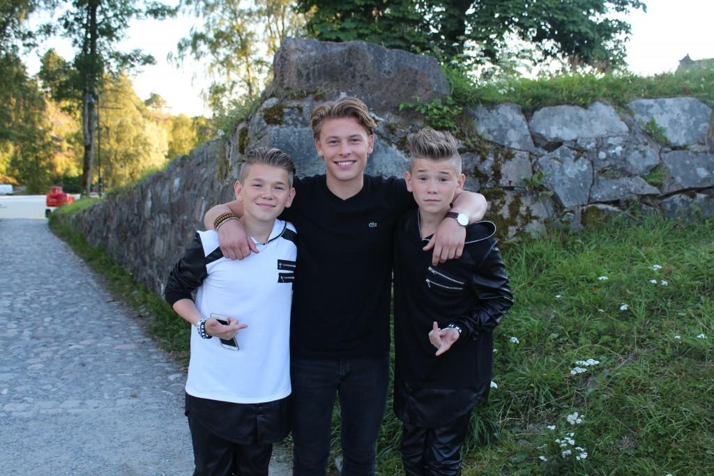 Jesper with Markus & Martinius